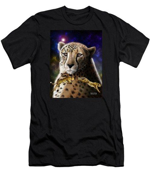 First In The Big Cat Series - Cheetah Men's T-Shirt (Slim Fit) by Thomas J Herring