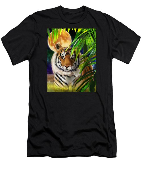 Second In The Big Cat Series - Tiger Men's T-Shirt (Slim Fit) by Thomas J Herring