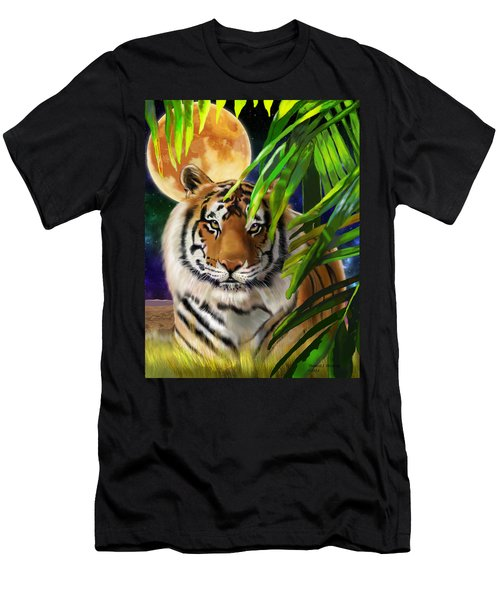 Second In The Big Cat Series - Tiger Men's T-Shirt (Athletic Fit)