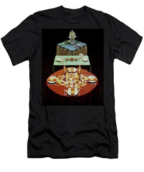 Set Tables Men's T-Shirt (Athletic Fit)