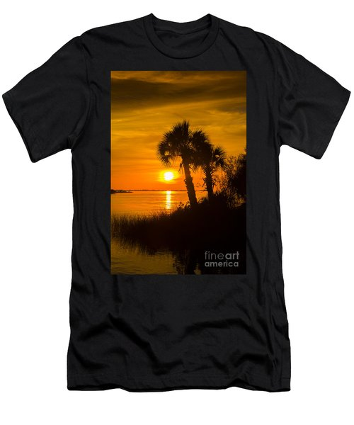 Settting Sun Men's T-Shirt (Athletic Fit)