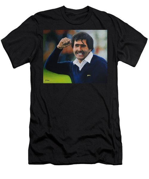 Seve Ballesteros Oil On Canvas Men's T-Shirt (Athletic Fit)