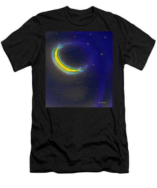 Seven Stars And The Moon Men's T-Shirt (Athletic Fit)