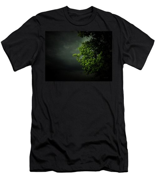 Men's T-Shirt (Slim Fit) featuring the photograph Severe Weather by Cynthia Lassiter