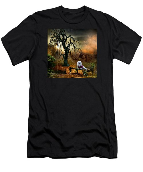 Shades Of The Fall  Men's T-Shirt (Slim Fit) by Morag Bates