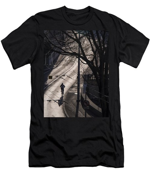 Shadow And Light Men's T-Shirt (Slim Fit) by Muhie Kanawati