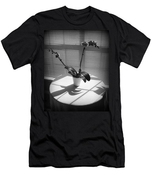 Men's T-Shirt (Slim Fit) featuring the photograph Shadow Patterns by Jodie Marie Anne Richardson Traugott          aka jm-ART