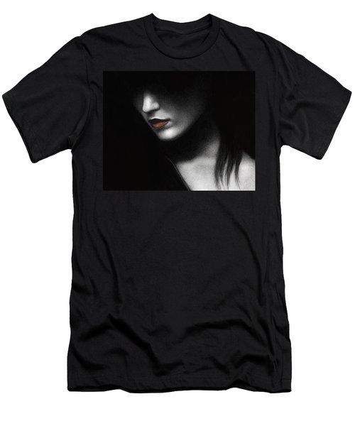 Shadowed In My Mind Men's T-Shirt (Slim Fit) by Pat Erickson