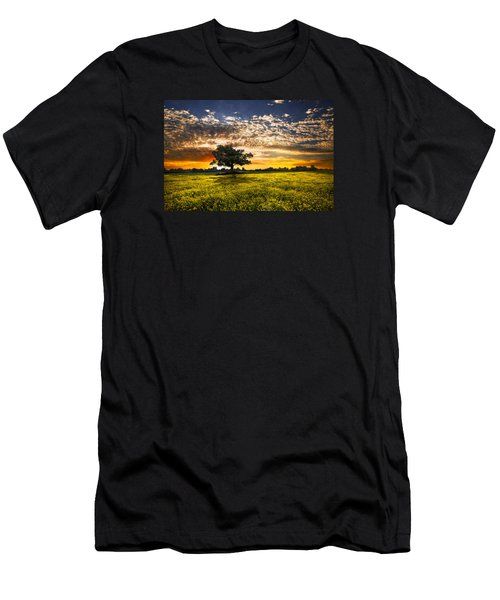 Shadows At Sunset Men's T-Shirt (Athletic Fit)