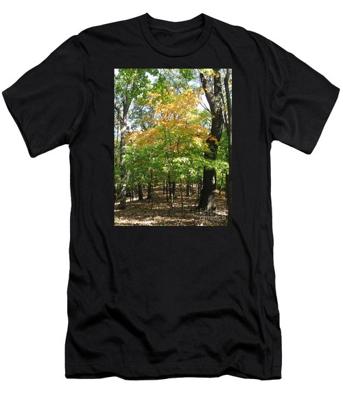 Shadows In The Forest Men's T-Shirt (Athletic Fit)