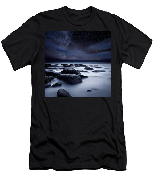 Shadows Of The Night Men's T-Shirt (Slim Fit) by Jorge Maia