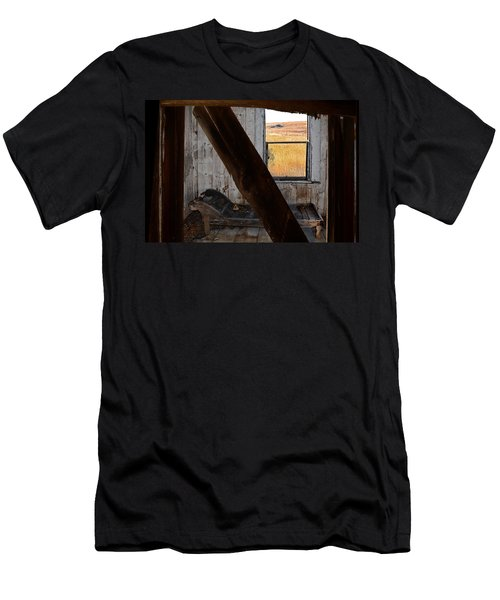 Shadows Of The Past Men's T-Shirt (Slim Fit) by Ed Hall