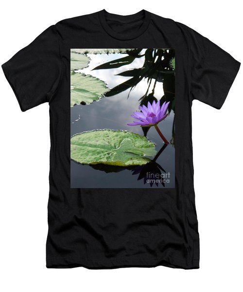 Shadows On A Lily Pond Men's T-Shirt (Athletic Fit)