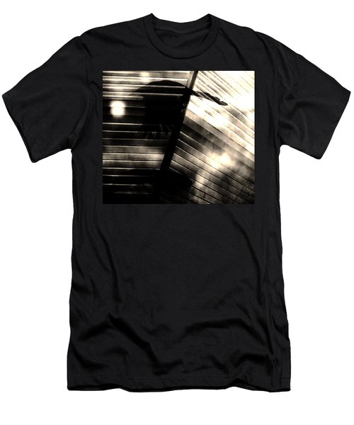 Men's T-Shirt (Slim Fit) featuring the photograph Shadows Symphony  by Jessica Shelton