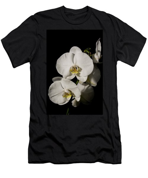 Shadowy Orchids Men's T-Shirt (Athletic Fit)