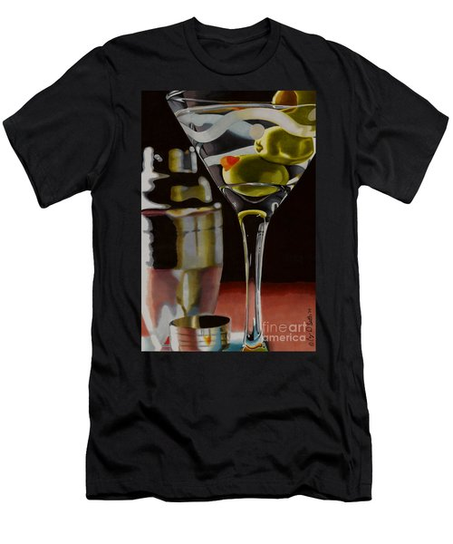 Shaken Not Stirred Men's T-Shirt (Athletic Fit)