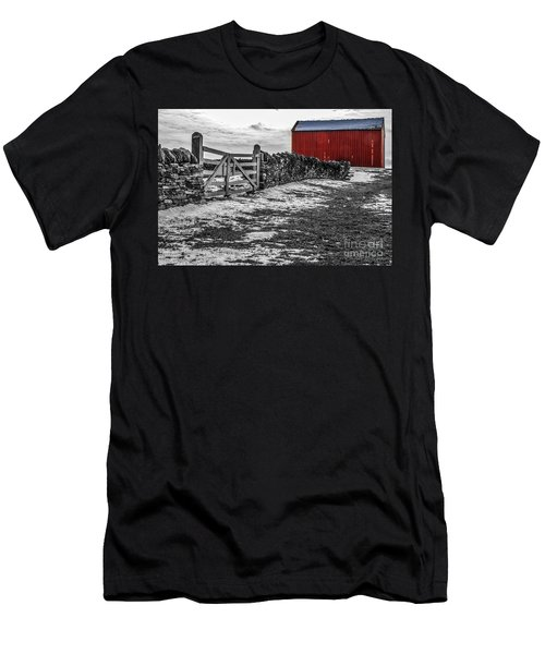 Shakertown Red Barn - Sc Men's T-Shirt (Athletic Fit)