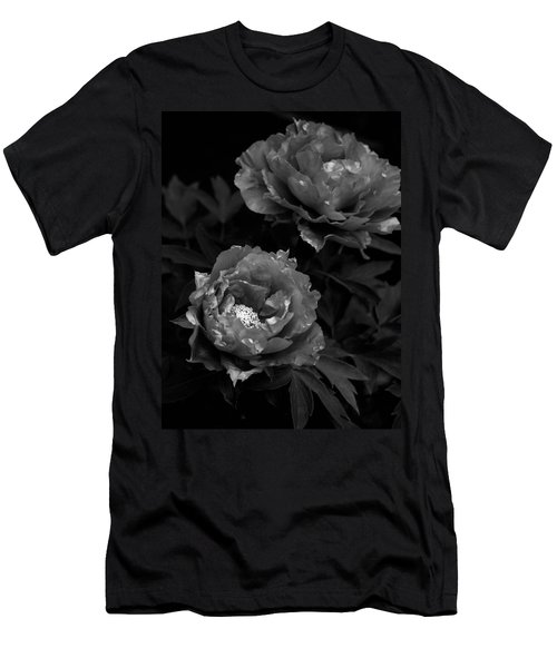 Men's T-Shirt (Slim Fit) featuring the photograph Shakuyaku by Rachel Mirror