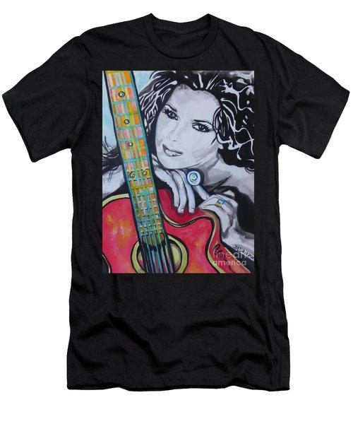 Shania Twain Men's T-Shirt (Athletic Fit)