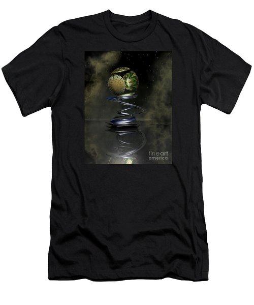 Shapero's Flower Men's T-Shirt (Slim Fit) by Shari Nees