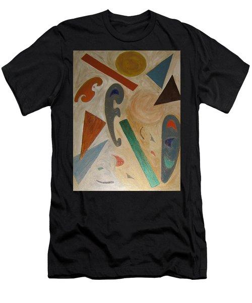 Shapes Men's T-Shirt (Athletic Fit)