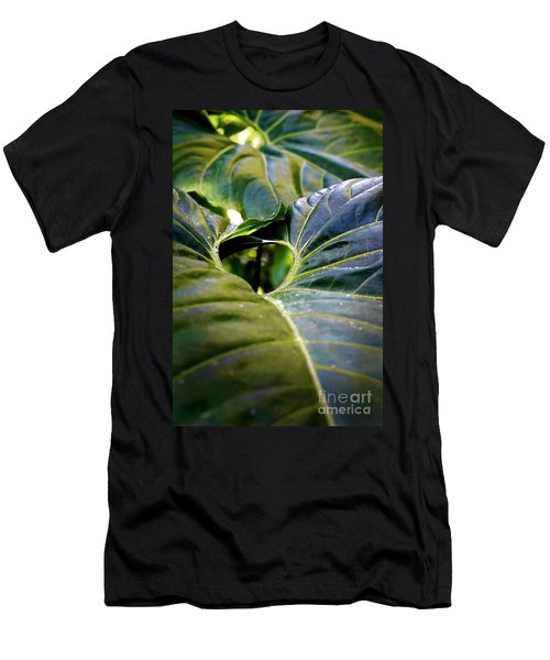 Men's T-Shirt (Slim Fit) featuring the photograph Shapes Of Hawaii 11 by Ellen Cotton