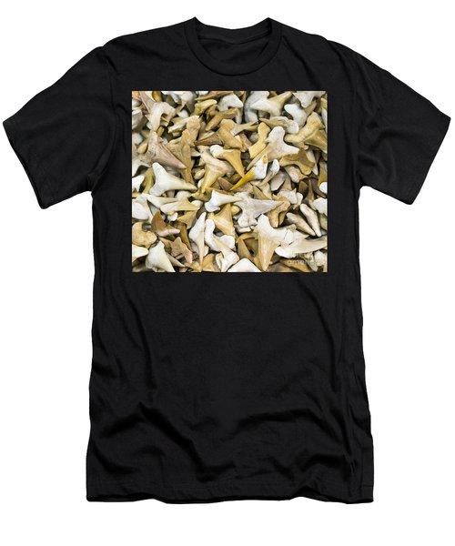 Sharks Teeth Men's T-Shirt (Athletic Fit)