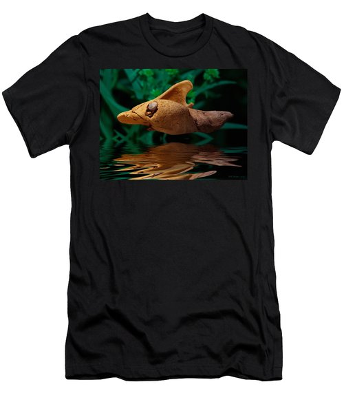 Men's T-Shirt (Slim Fit) featuring the photograph Sharkwood by WB Johnston