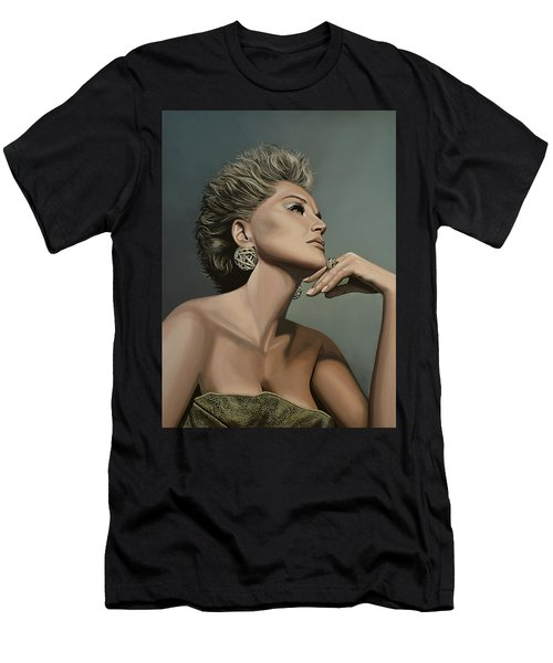 Sharon Stone Men's T-Shirt (Athletic Fit)