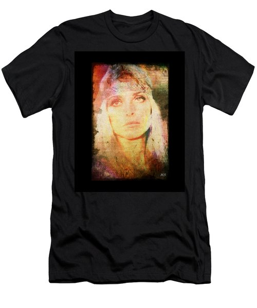 Sharon Tate - Angel Lost Men's T-Shirt (Slim Fit) by Absinthe Art By Michelle LeAnn Scott