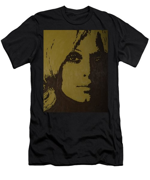 Men's T-Shirt (Slim Fit) featuring the painting Sharon by Darlene Fernald