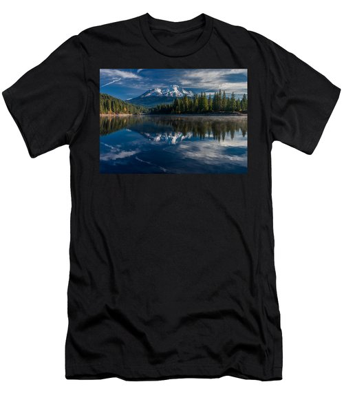 Shasta And Lake Siskiyou Men's T-Shirt (Athletic Fit)
