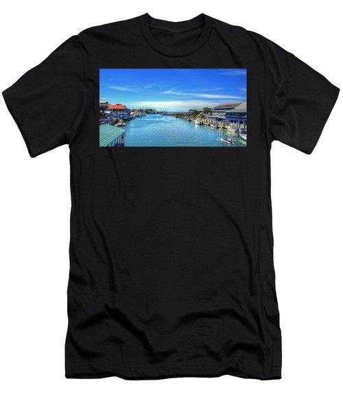 Shem Creek Men's T-Shirt (Athletic Fit)