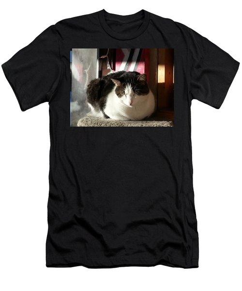 Men's T-Shirt (Slim Fit) featuring the photograph Shhh by Caryl J Bohn