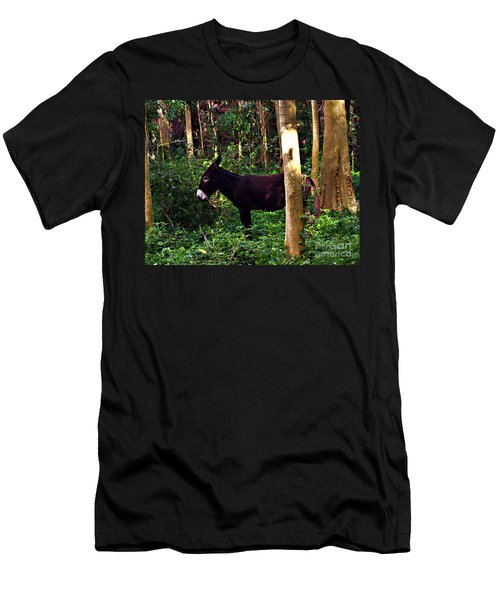 Shhh I'm Hiding Men's T-Shirt (Athletic Fit)