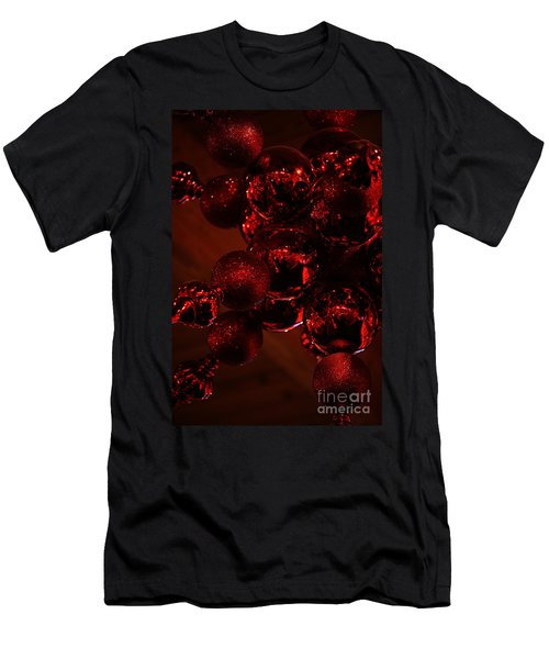Shimmer In Red Men's T-Shirt (Athletic Fit)