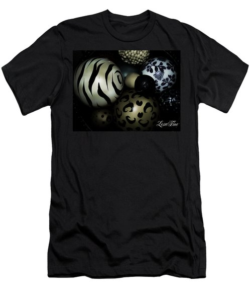 Shimmery Spheres Men's T-Shirt (Athletic Fit)