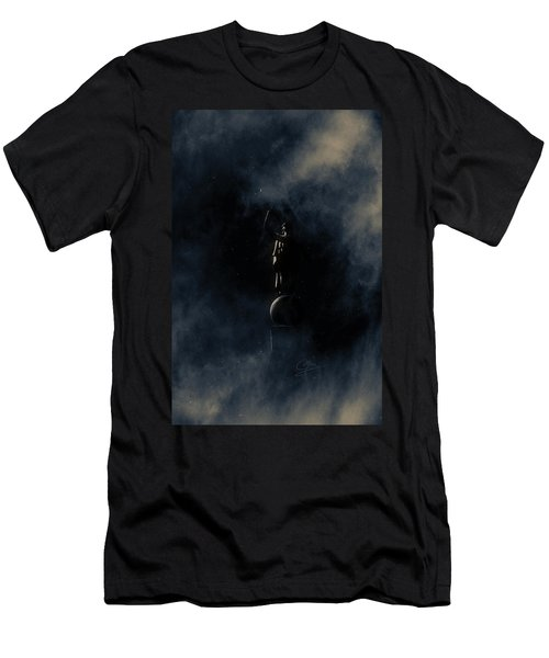 Men's T-Shirt (Slim Fit) featuring the photograph Shine Forth In Darkness by Greg Collins