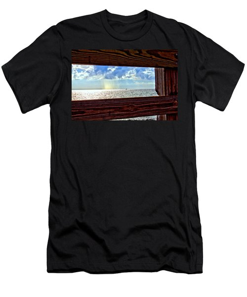 Men's T-Shirt (Athletic Fit) featuring the photograph Shine It Down by Tyson Kinnison