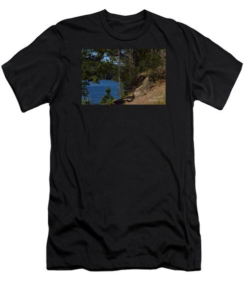 Shine On Men's T-Shirt (Slim Fit) by Greg Patzer