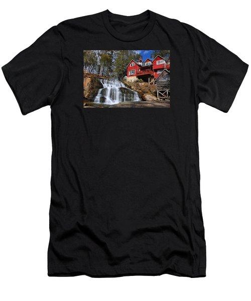 Shoal Creek Falls  Men's T-Shirt (Athletic Fit)
