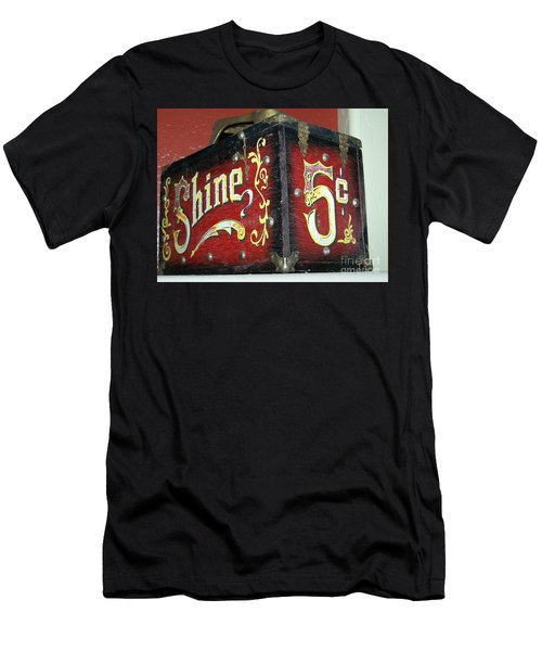 Shoe Shine Kit Men's T-Shirt (Slim Fit) by Pamela Walrath