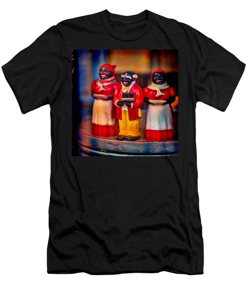 Men's T-Shirt (Slim Fit) featuring the photograph Shop Window Trio by Chris Lord