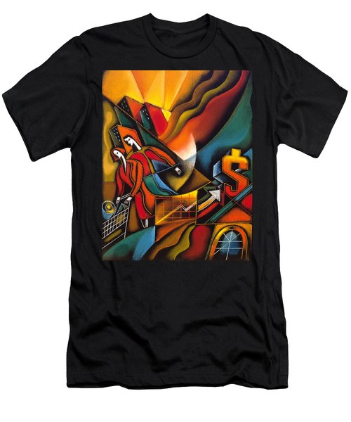 Shopping Men's T-Shirt (Athletic Fit)