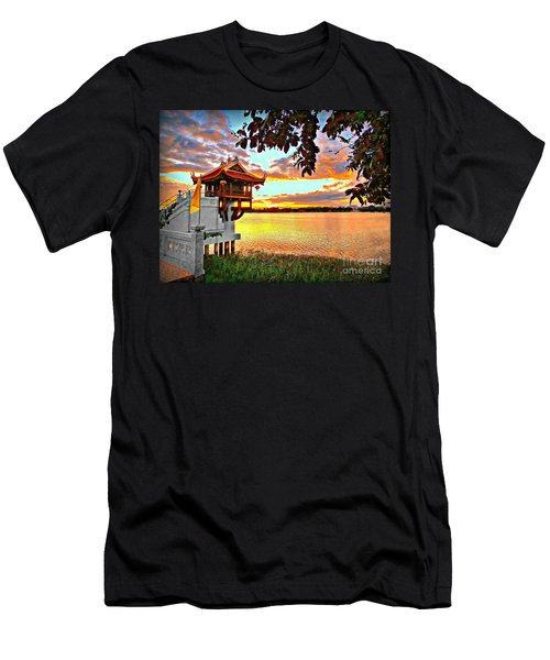 Shrine On The Lake. Men's T-Shirt (Athletic Fit)