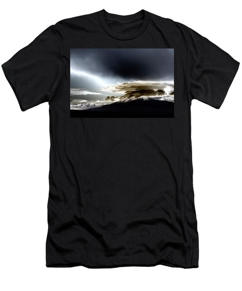 Shrouded Oquirrh Men's T-Shirt (Athletic Fit)