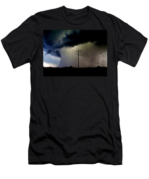 Men's T-Shirt (Slim Fit) featuring the photograph Shrouded Tornado by Ed Sweeney