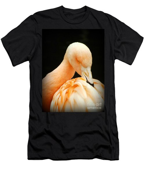 Men's T-Shirt (Slim Fit) featuring the photograph Shy by Clare Bevan