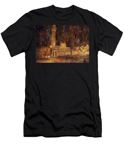 Siena Sunset Men's T-Shirt (Athletic Fit)