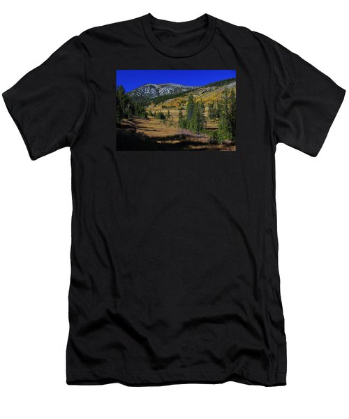 Men's T-Shirt (Slim Fit) featuring the photograph Sierra Fall  by Sean Sarsfield